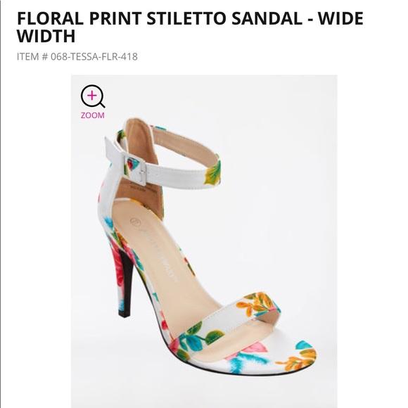 827c548c2b0 New floral print stiletto heel